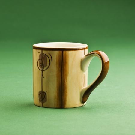 Close-up of a tea cup photo