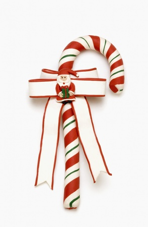 Close-up of a candy cane Stock Photo - 10198190