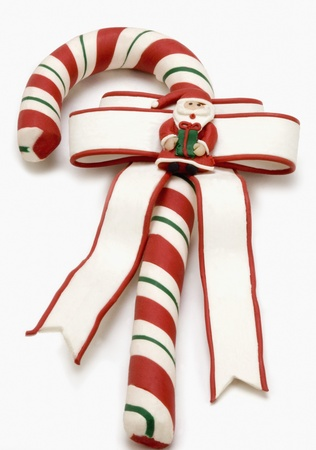 Close-up of a candy cane Stock Photo - 10198349
