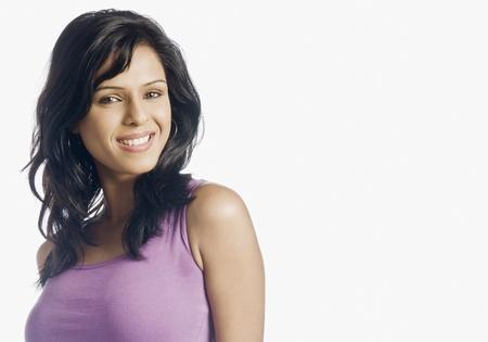 Portrét ženy s úsměvem Reklamní fotografie - 10123446