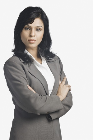 Portrait of a businesswoman Stock Photo - 10166195