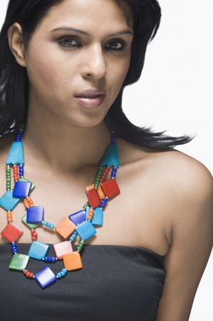 Portrait of a fashion model Stock Photo - 10166199