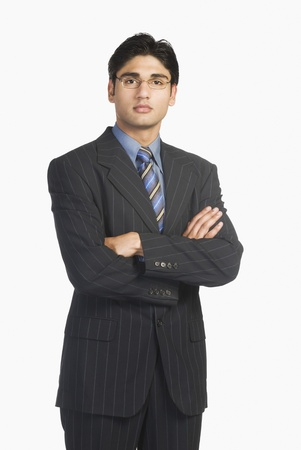 full height: Portrait of a businessman