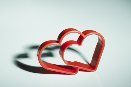 Close-up of a heart shaped cookie cutter Stock Photo - 10198442
