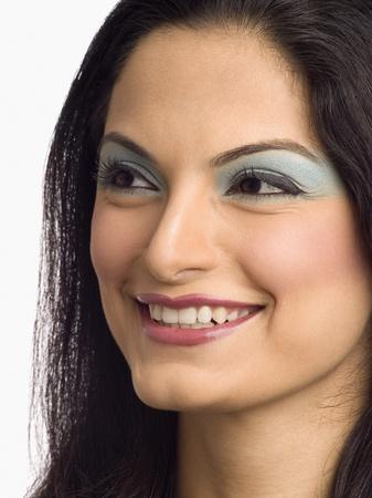 photosindia: Close-up of a female fashion model posing