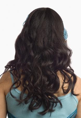 photosindia: Rear view of a female fashion model
