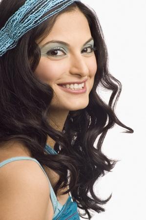 Portrait of a female fashion model posing Stock Photo - 10123828