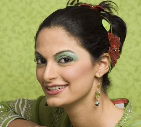 Portrait of a female fashion model posing Stock Photo - 10125977