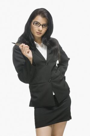 Portrait of a businesswoman posing