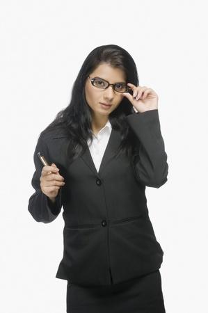 photosindia: Portrait of a businesswoman posing