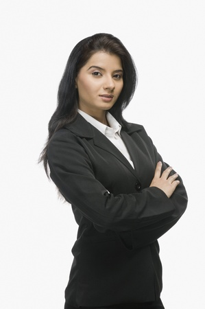 photosindia: Portrait of a businesswoman smiling