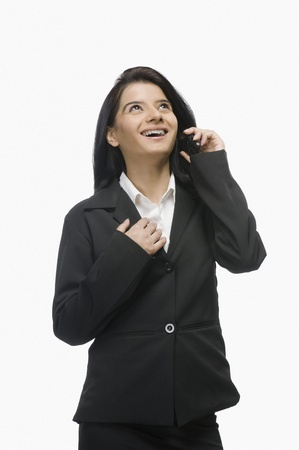 rfbatch15: Businesswoman talking on a mobile phone