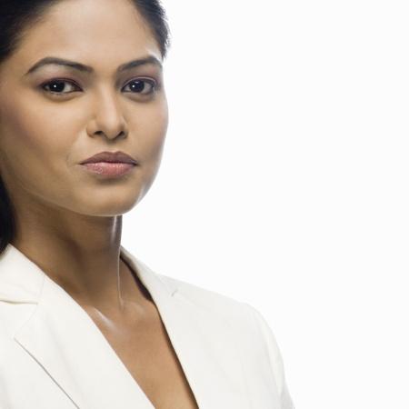 Retrato de una empresaria posando Foto de archivo - 10126279