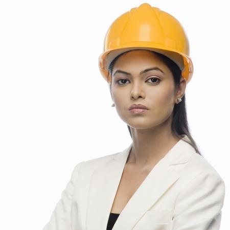 Porträt eines weiblichen Architekten