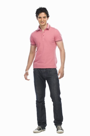 Portrait of a young man smiling Stock Photo - 10126243