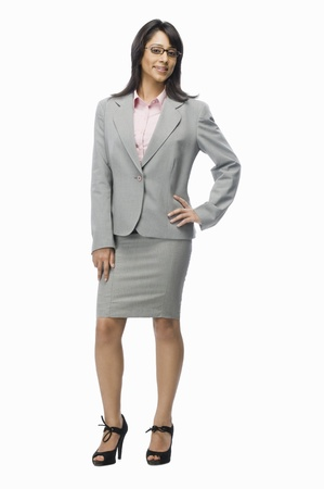 Portrait of a businesswoman posing Stock Photo - 10123881