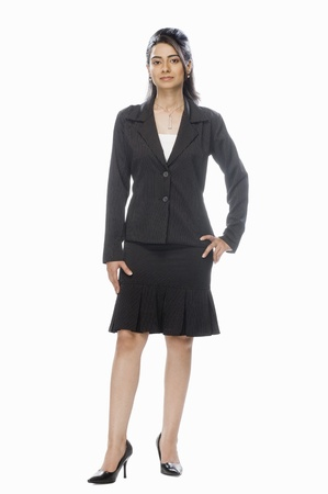 Portrait of a businesswoman Stock Photo - 10124021