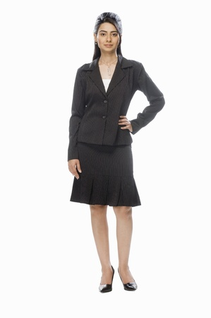 Portrait of a businesswoman posing Stock Photo - 10123984
