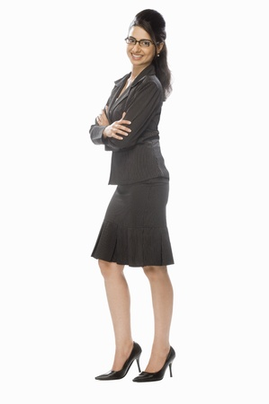 Portrait of a businesswoman Stock Photo - 10123905