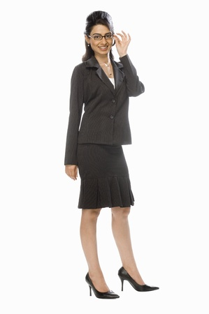 Portrait of a businesswoman Stock Photo - 10123985