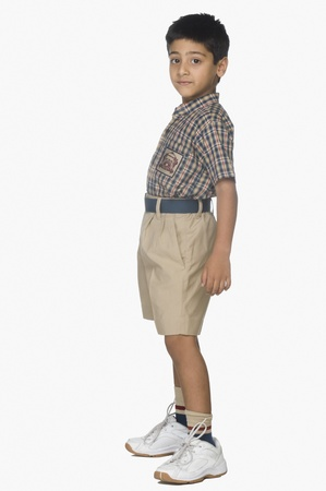 Portrait of a boy standing