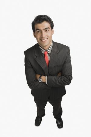 Portrait of a businessman smiling Stock Photo - 10125354