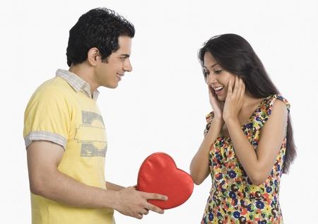 Man proposing to a woman Stock Photo - 10124675