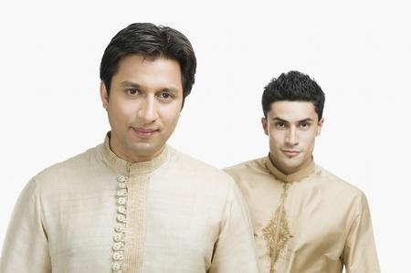 Portrait of two men Stock Photo - 10124450