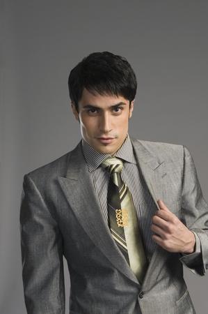 ビジネスマンの肖像画 写真素材
