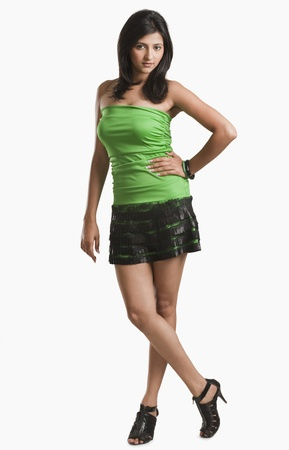 Portrait of a woman posing with hand on hip Stock Photo - 10168947