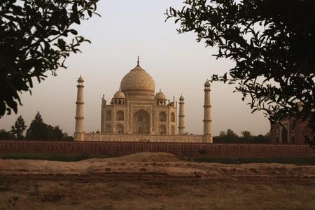 uttar pradesh: Facade of a mausoleum, Taj Mahal, Agra, Uttar Pradesh, India
