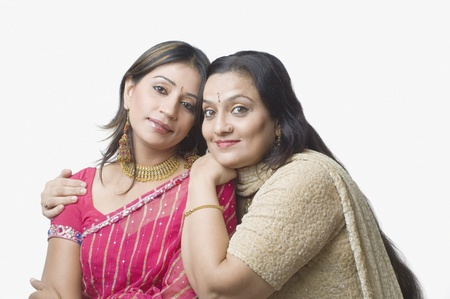 kameez: Portrait of a woman with her daughter