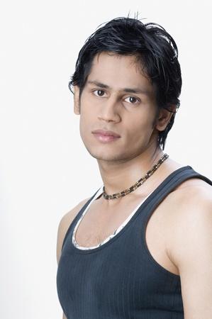 Portrait of a man posing photo
