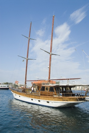 Yachts in the sea, Valletta, Malta photo
