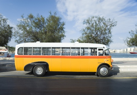 도로, 발레타, 몰타의 버스