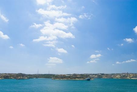 Island in the sea, Valletta, Malta