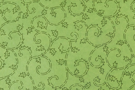 Background pattern on a sheet of paper