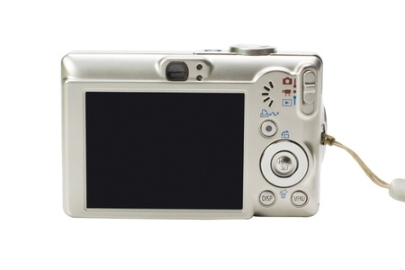 Close-up of a digital camera Stock Photo - 10236295