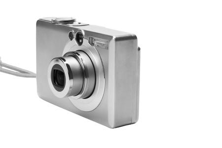 Close-up of a digital camera photo