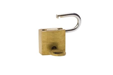 Close-up of a padlock Stock fotó - 10234760