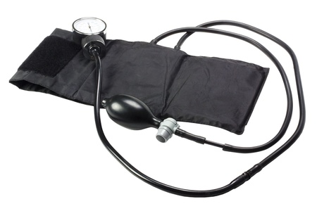 Close-up of a blood pressure gauge Stock Photo - 10236814