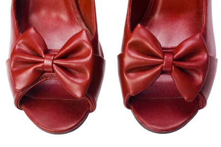 high heel shoes: Close-up of a pair of high heel shoes