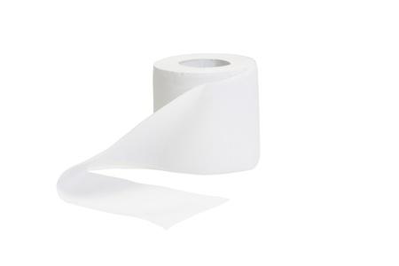 Nahaufnahme einer Rolle Toilettenpapier Standard-Bild - 10240768
