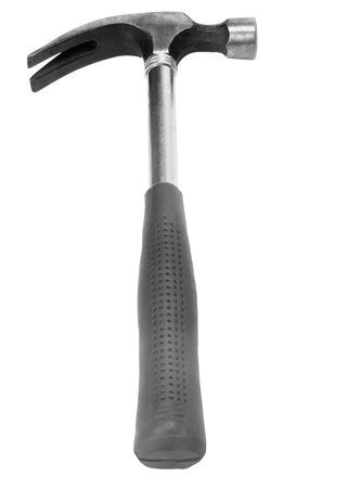 resourceful: Close-up of a claw hammer