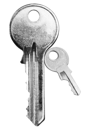 Close-up of two keys Stock Photo