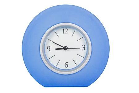 getting late: Close-up of a clock Stock Photo