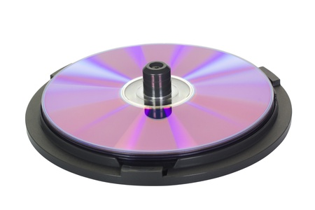 Close-up of a compact disc in a CD case Stock Photo - 10240281