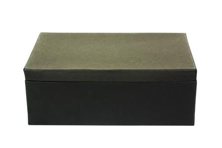 Close-up of a shoe box Stock Photo - 10239598