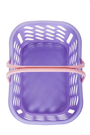 Close-up of a plastic basket photo