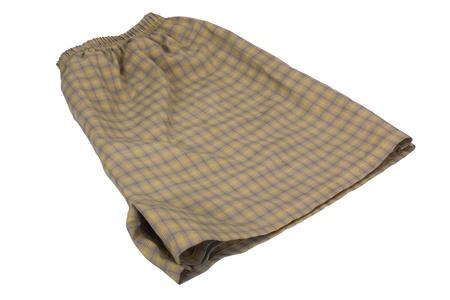 Close-up of a folded shorts